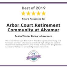 2019 Best of Senior Living Award